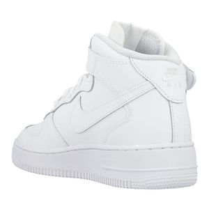Nike Air Force 1 Mid GS High-Top Sneaker weiß – Bild 3