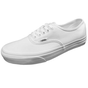 Vans Authentic Leinen Sneaker weiß true white – Bild 1
