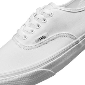 Vans Authentic Leinen Sneaker weiß true white – Bild 3