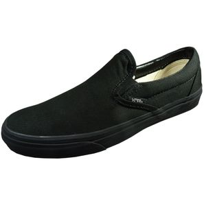 Vans Classic Slip-On Sneaker Slipper all black schwarz – Bild 1