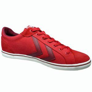 Hummel Deuce Court Summer Herren Sneaker Ribbon Red – Bild 2