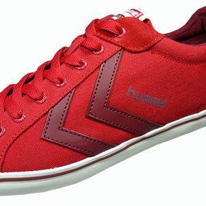 Hummel Deuce Court Summer Herren Sneaker Ribbon Red – Bild 4