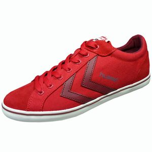 Hummel Deuce Court Summer Herren Sneaker Ribbon Red – Bild 1