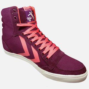 Hummel SL Stadil Pastels Hi Damen High-Top Sneaker lila – Bild 2