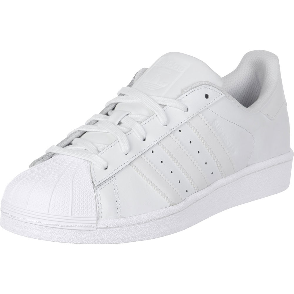 adidas superstar foundation herren sneaker wei all white. Black Bedroom Furniture Sets. Home Design Ideas