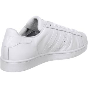 adidas Superstar Foundation Herren Sneaker weiß all white – Bild 2