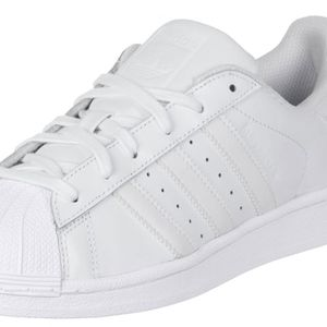 adidas Superstar Foundation Herren Sneaker weiß all white – Bild 3