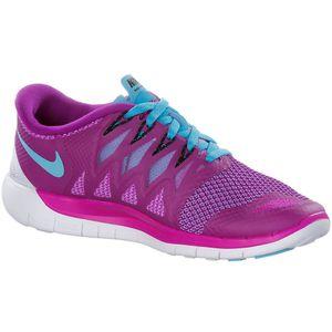 Nike WMNS Free 5.0 Damen Running Sneaker lila türkis – Bild 2