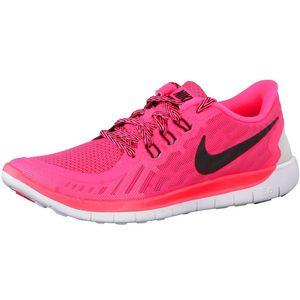 Nike Free 5.0 GS Running Sneaker neonpink weiß