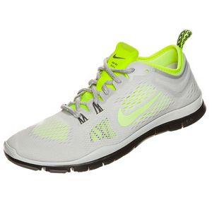Nike WMNS Free 5.0 TR Fit 4 Damen Laufschuh Sneaker weiß gelb
