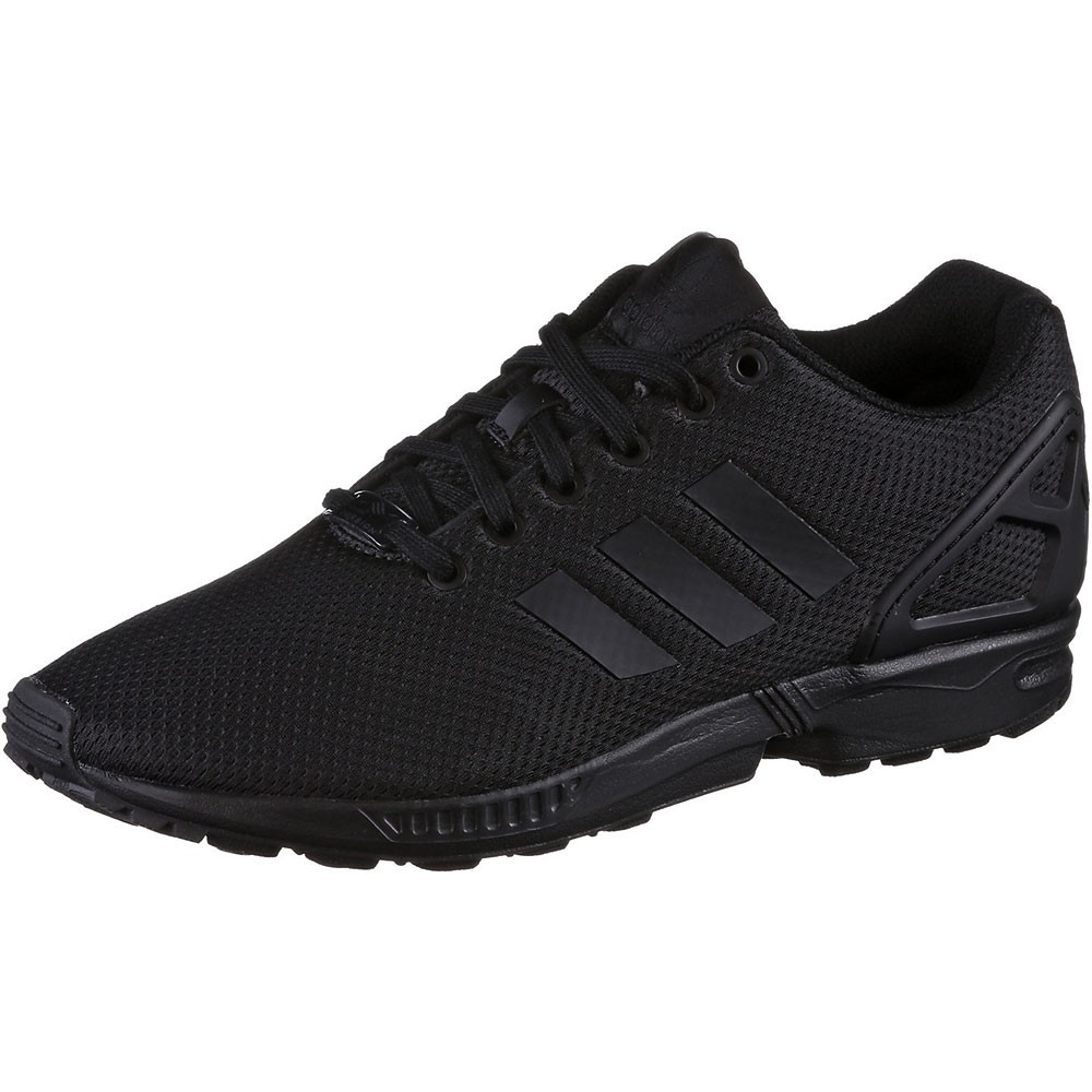 adidas ZX Flux K Kinder Damen Sneaker schwarz all black 71253e5d61