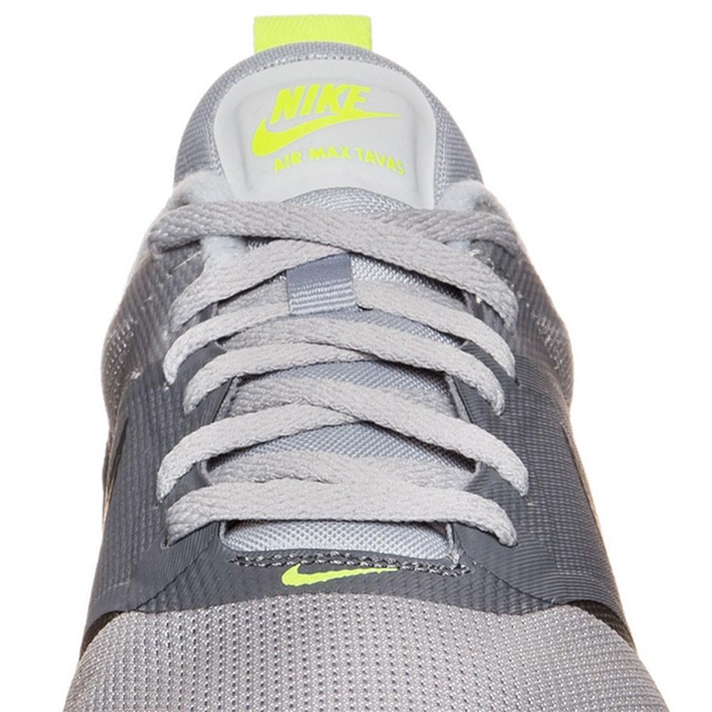 watch 22220 4816a Nike Air Max Tavas Herren Sneaker grau schwarz