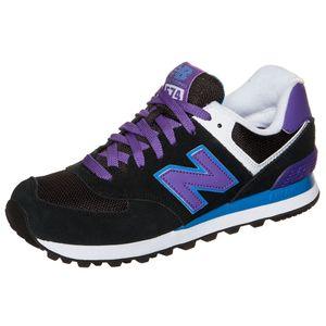 New Balance WL574MOX Damen Sneaker schwarz lila