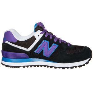 New Balance WL574MOX Damen Sneaker schwarz lila – Bild 2