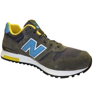 New Balance ML565SNR Herren Sneaker grau blau gelb  – Bild 2