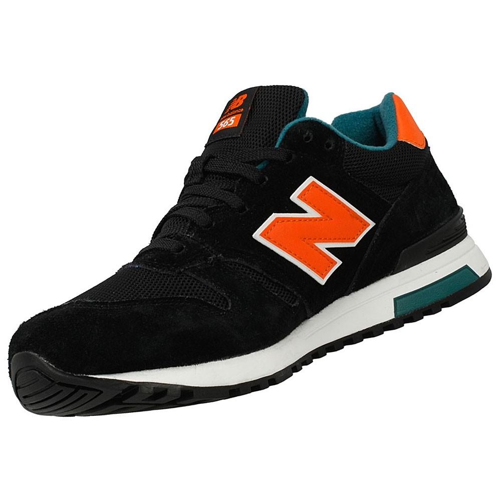 new balance ml565sbo herren sneaker schwarz orange. Black Bedroom Furniture Sets. Home Design Ideas
