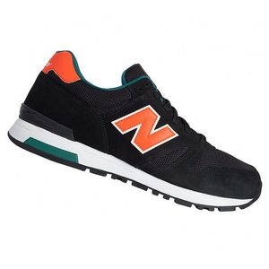 New Balance ML565SBO Herren Sneaker schwarz orange – Bild 2