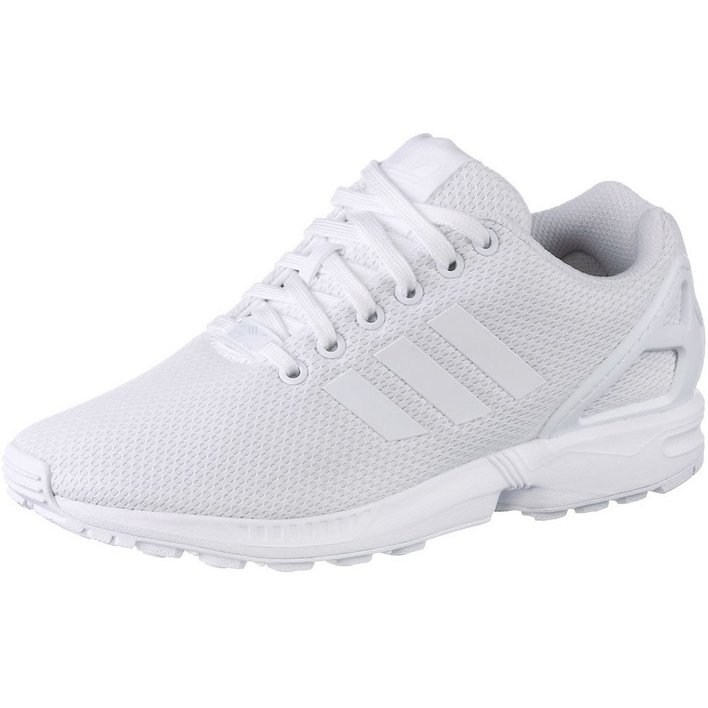 adidas zx flux herren torsion sneaker wei all white. Black Bedroom Furniture Sets. Home Design Ideas