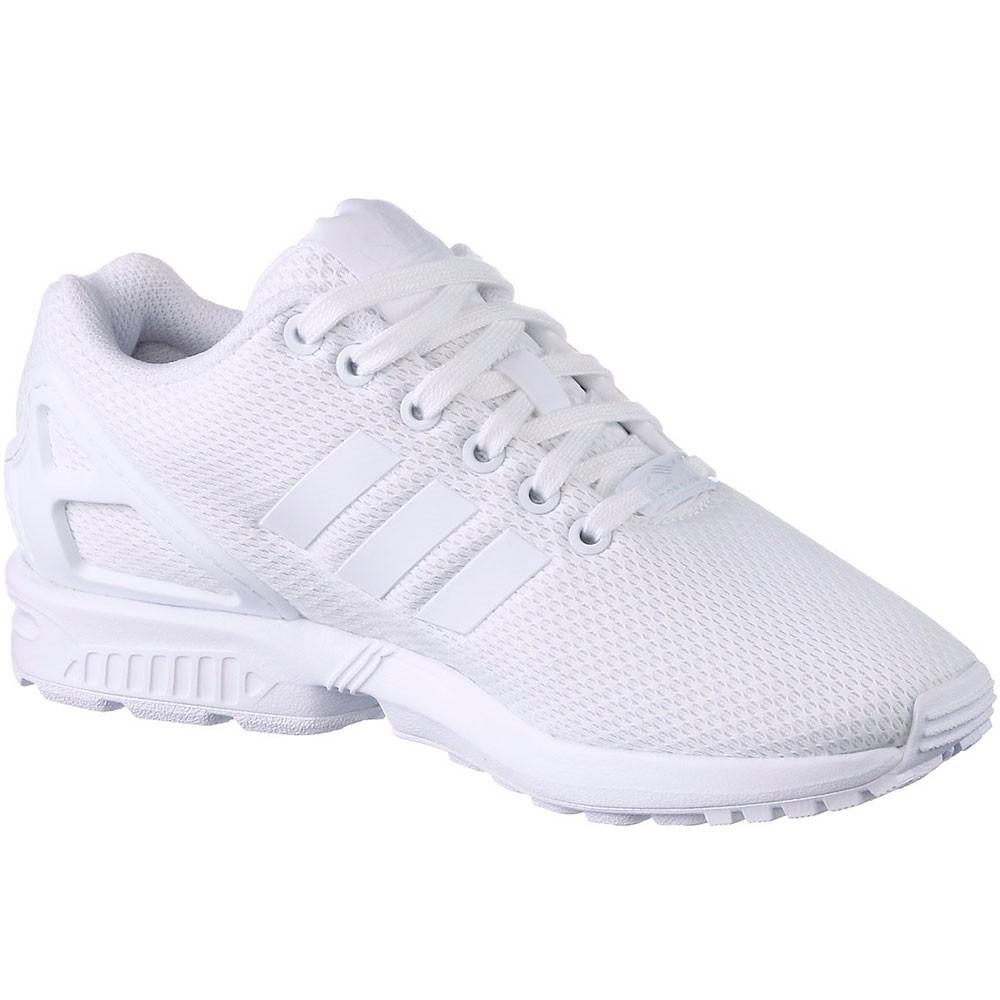 Adidas zx flujo Herren torsión zapatilla weiß blanco