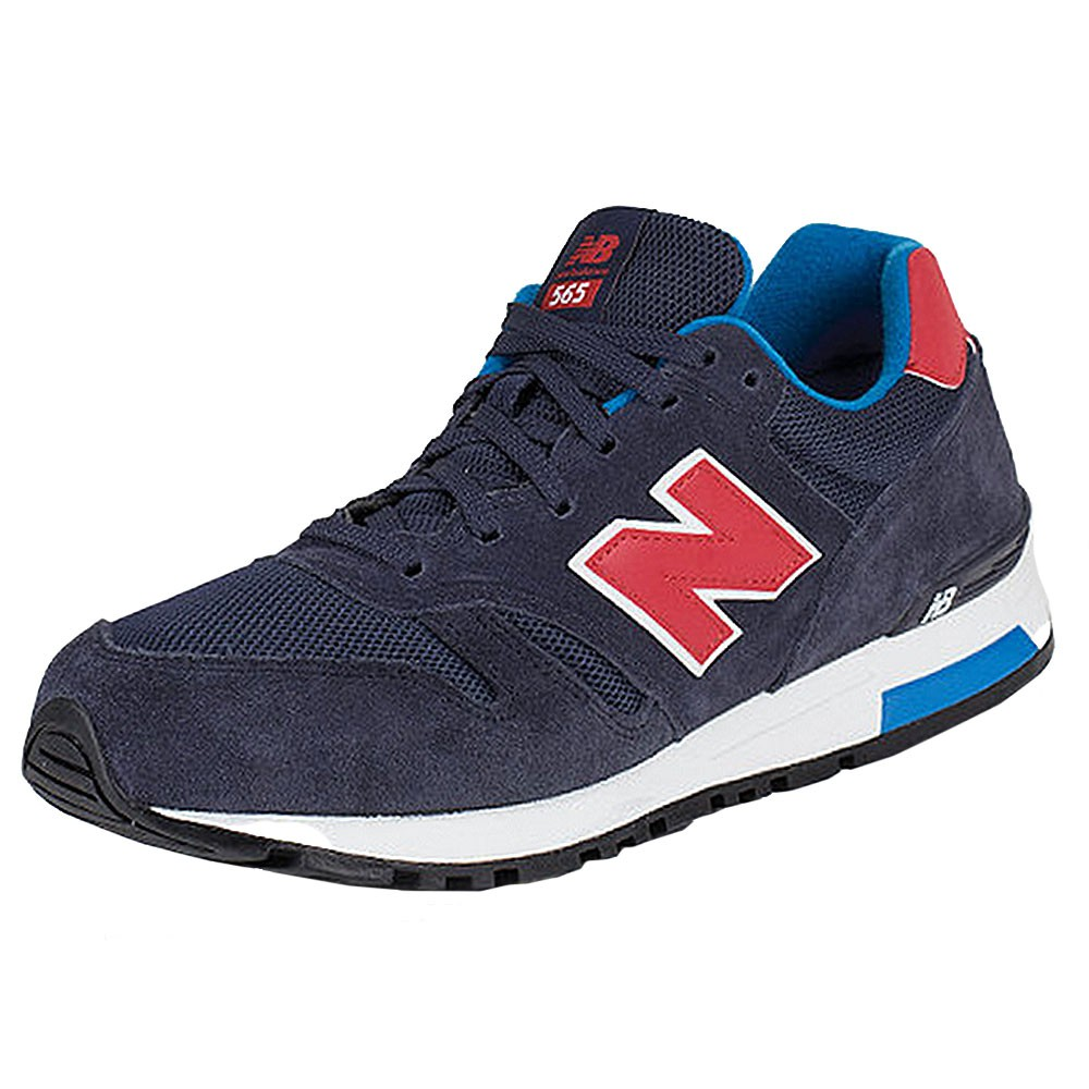 new balance ml565sgb herren sneaker blau rot. Black Bedroom Furniture Sets. Home Design Ideas