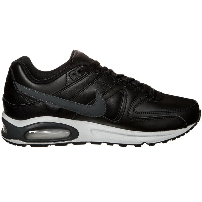 Leather Sneaker Nike Command Max Herren Schwarz Air Grau