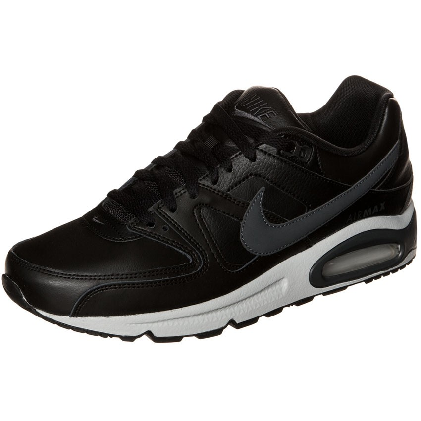 half off 17e05 c5ea5 Nike Air Max Command Leather Herren Sneaker schwarz grau