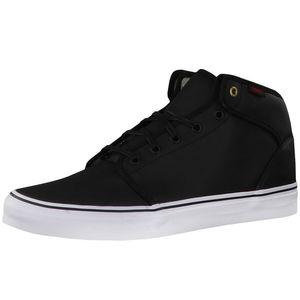 Vans 106 Mid Herren High-Top Sneaker schwarz weiß – Bild 1