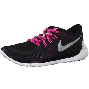 Nike Free 5.0 GS Running Sneaker schwarz pink – Bild 1