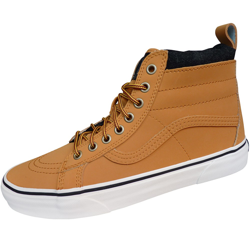 vans high top herren rot