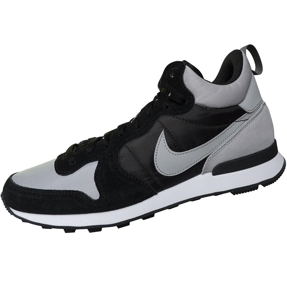 Nike Internationalist Mid Herren High Top Sneaker schwarz grau