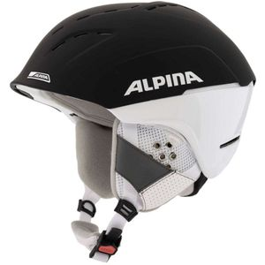 Alpina Spice Skihelm black matt white 52 - 56 cm