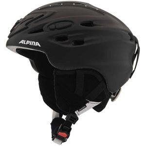 Alpina Scara Damen Skihelm black matt strass 52 - 56 cm