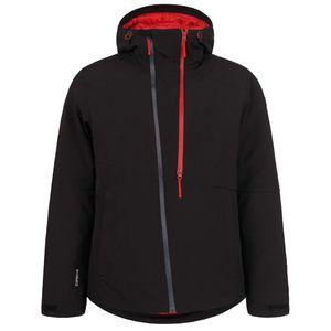 Icepeak Truman Men Ski- Snowboardjacke schwarz rot – Bild 1