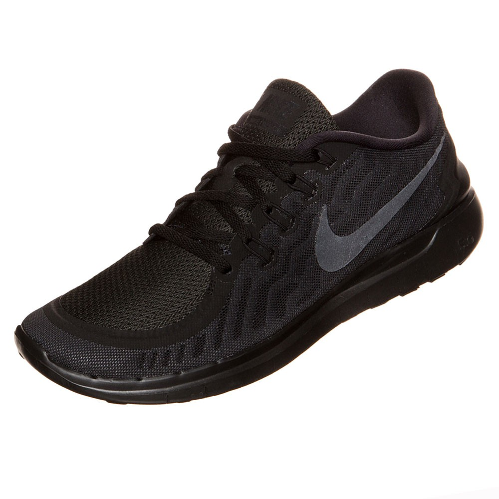 nike wmns free 5 0 damen running sneaker schwarz. Black Bedroom Furniture Sets. Home Design Ideas