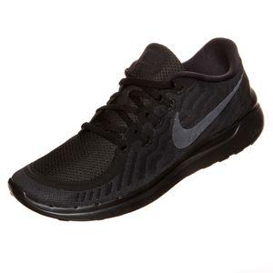 Nike WMNS Free 5.0 Damen Running Sneaker schwarz
