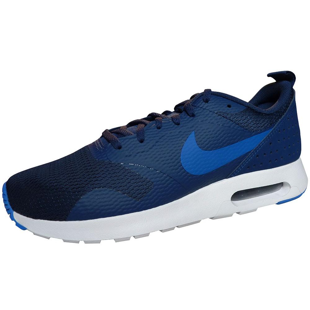 separation shoes 04ff1 0de35 Nike Air Max Tavas Herren Sneaker blau weiß
