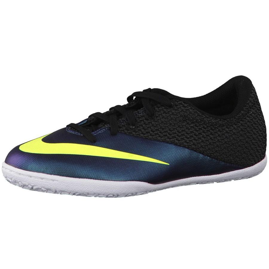 Nike JR Mercurialx Pro IC Hallenschuh schwarz dunkelblau