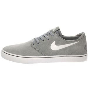 Nike Zoom Oneshot SB Herren Sneaker grau weiß