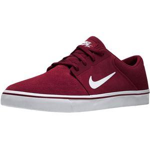 Nike SB Portmore Herren Sneaker Skateschuh weinrot