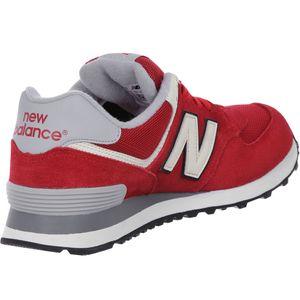 New Balance ML574VAA Herren Sneaker rot grau – Bild 2