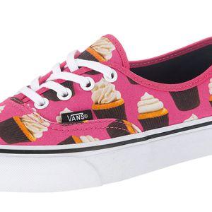 Vans Authentic Damen Sneaker hot pink cupcakes – Bild 2