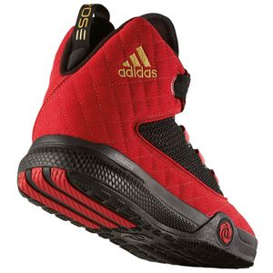 adidas D Rose Dominate 2016 Basketball rot schwarz – Bild 2