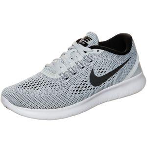 Nike WMNS Free RN Damen Sneaker grau schwarz weiß