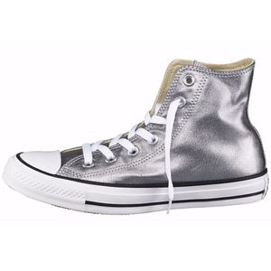 Converse CT AS Hi Chuck Taylor All Star silber metallic weiß – Bild 1