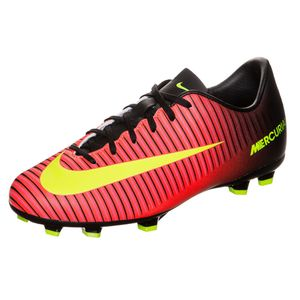 Nike JR Mercurial Vapor XI FG Kinder Fussballschuh orange gelb schwarz