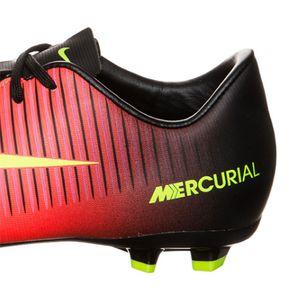 Nike JR Mercurial Vapor XI FG Kinder Fussballschuh orange gelb schwarz – Bild 4