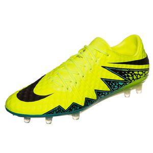 Nike Hypervenom Phinish FG Herren Fußballschuh neon grün – Bild 1