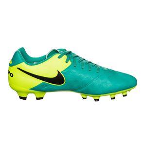 Nike Tiempo Genio II Leather FG Nockenschuh türkis neon – Bild 2