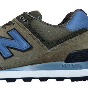 New Balance ML574CUD Herren Sneaker olive – Bild 2