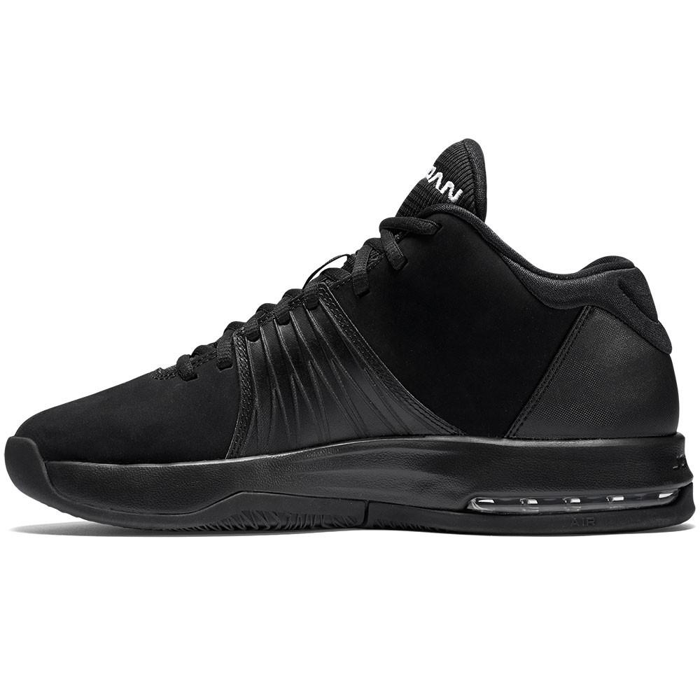 nike jordan 5 am herren high top sneaker schwarz. Black Bedroom Furniture Sets. Home Design Ideas